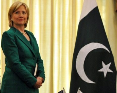 Hillary Clinton In Pakistan