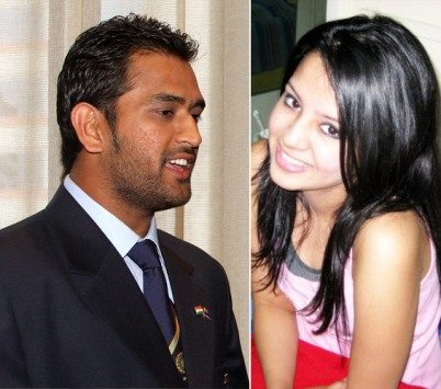 dhoni married