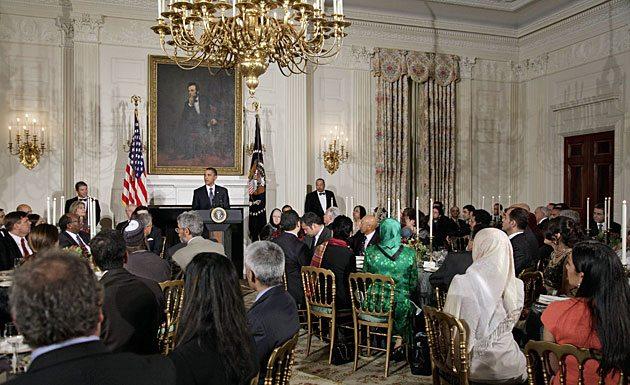 Obama Mosque White House