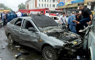 Car Bomb Blast Russia