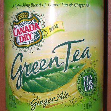 canada dry green tea