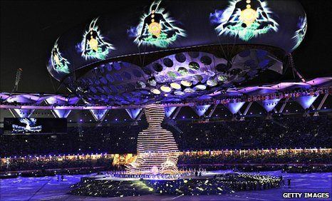 Commonwealth Games 2010 Opening Ceremony