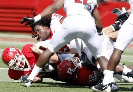 Eric LeGrand Rutgers Paralyzed