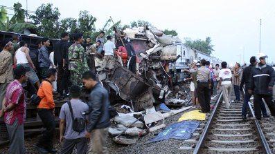 Indonesia Train Crash