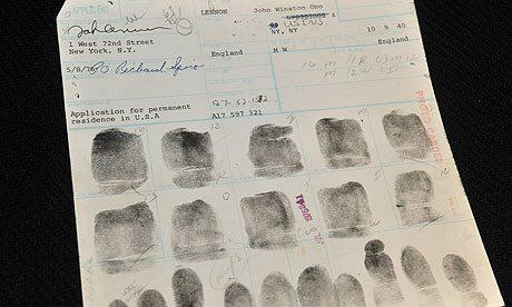 John-Lennon-fingerprint for US residence
