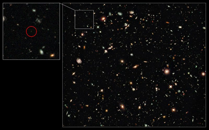 Most Distant and Oldest Galaxy