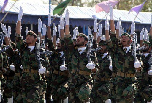 Revolutionary Guards Blast Iran