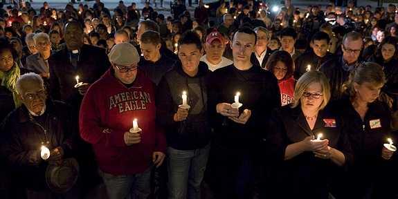 Rutgers University Vigil