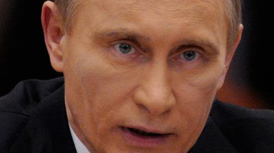 Vladimir Putin Black Eye