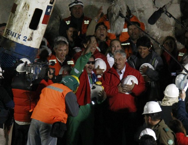 APTOPIX Chile Mine Collapse