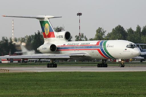 Tu-154_Dagestan_Airlines emergency landing