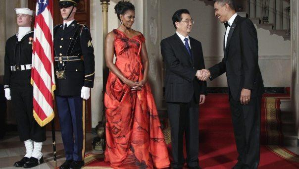 Obama Hu Jintao State Dinner