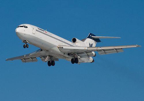 boeing 727 iranair plane crash