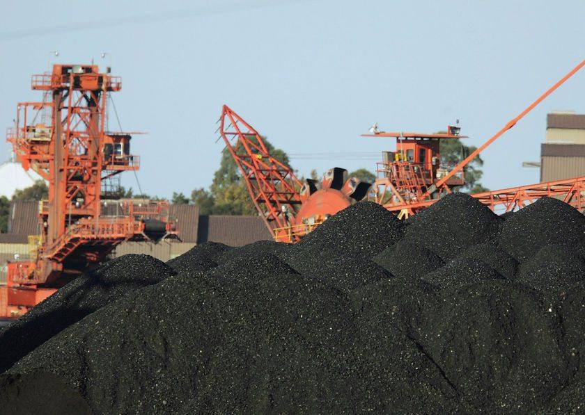coal export australia