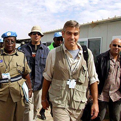 george_clooney sudan malaria