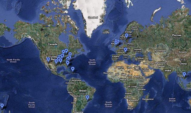 google maps mass animal deaths