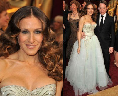 Sarah Jessica Parker in Christian Dior