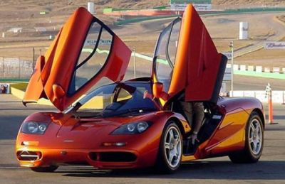 5) McLaren F1: It Is Not An Formula 1 Car, But Has Its DNA Linked With One  For Sure. It Was Known To Be One Of The Fastest Cars On The Planet And ...