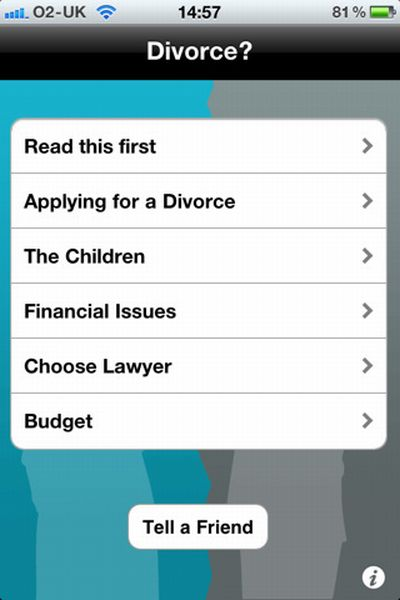 iTunes Divorce app