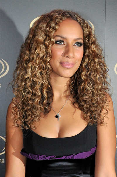 Leona Lewis Curly Hair