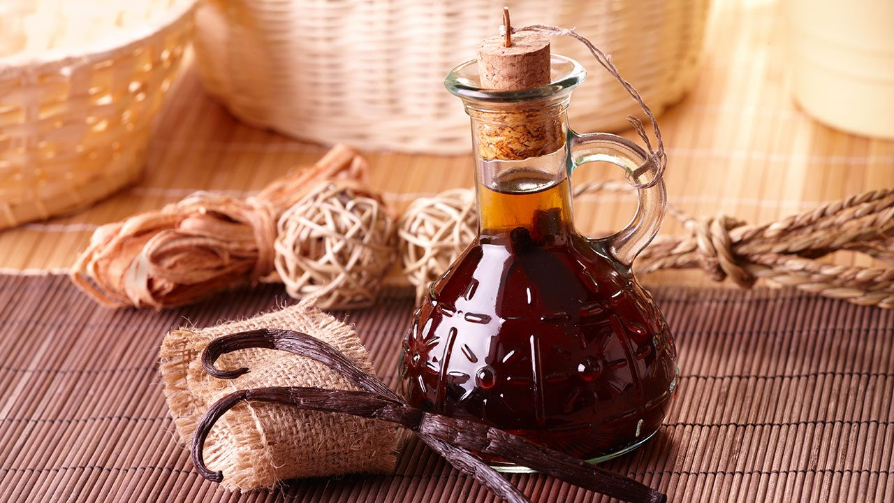vanilla extract oil