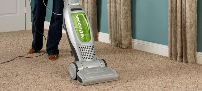 vacuum cleaner use