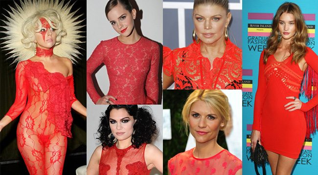 Celebrity Fashion Lace
