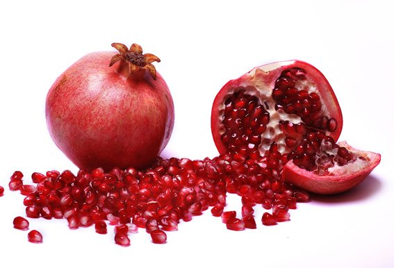 Pomegranat as a lipstick