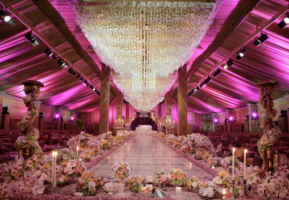 Luxury Wedding Event: 5 Of The Most Extravagant Wedding Ceremonies