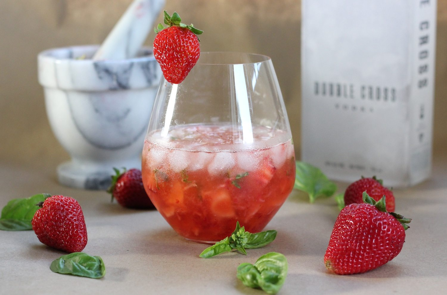 Strawberry Basil Vodka