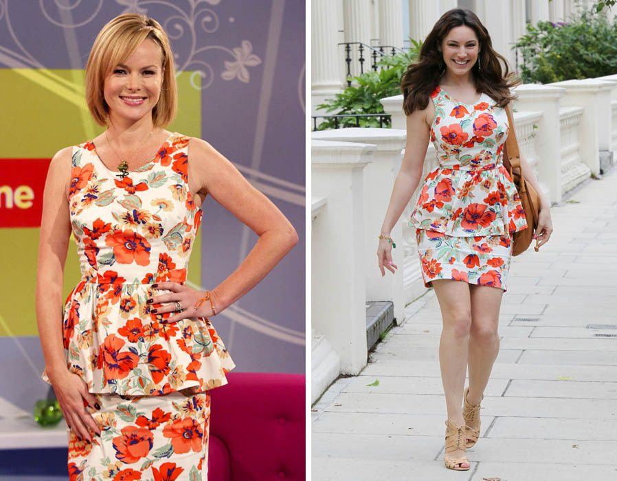 kelly brook amanda holden