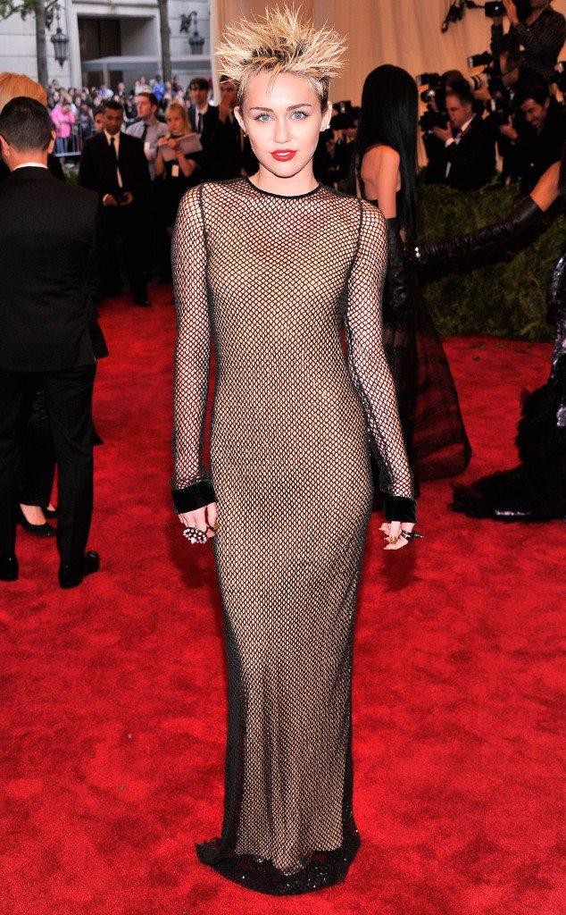 Miley Cyrus Met Gala
