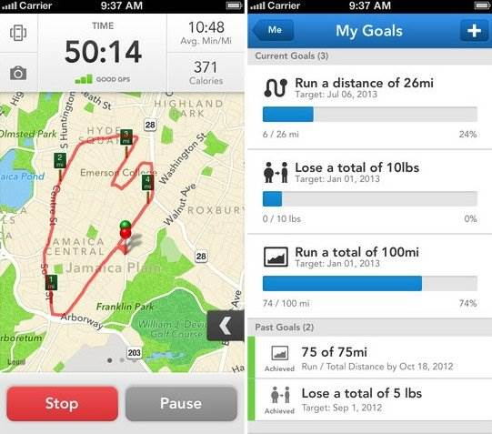 runkeeper-workout-app