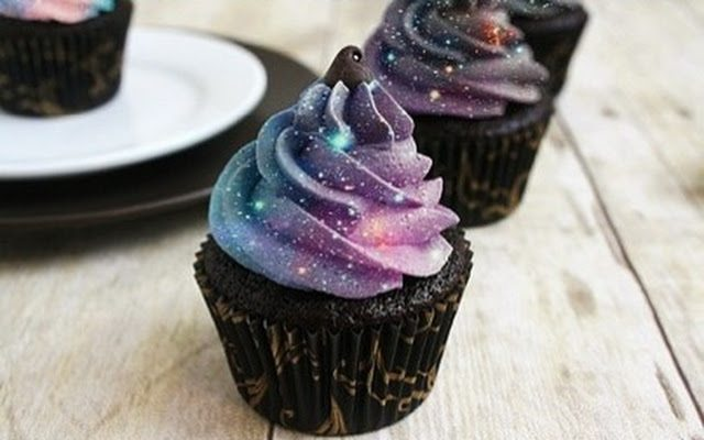 How To Make Galaxy Chocolate Cookies