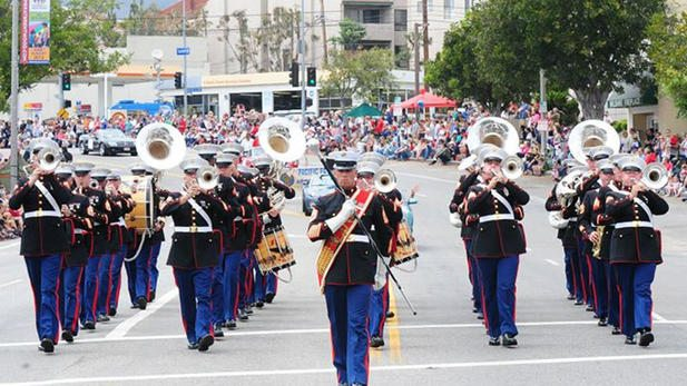 Pacific palisades Fourth of July parade
