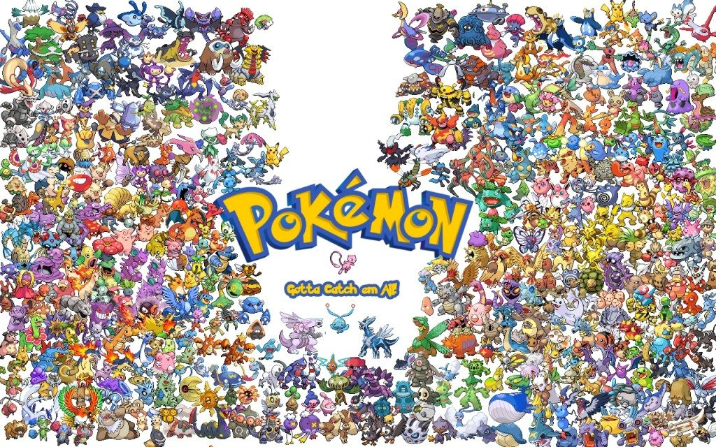 The wide world of the kingdom of Pokémon - Gotta Catch Em All!