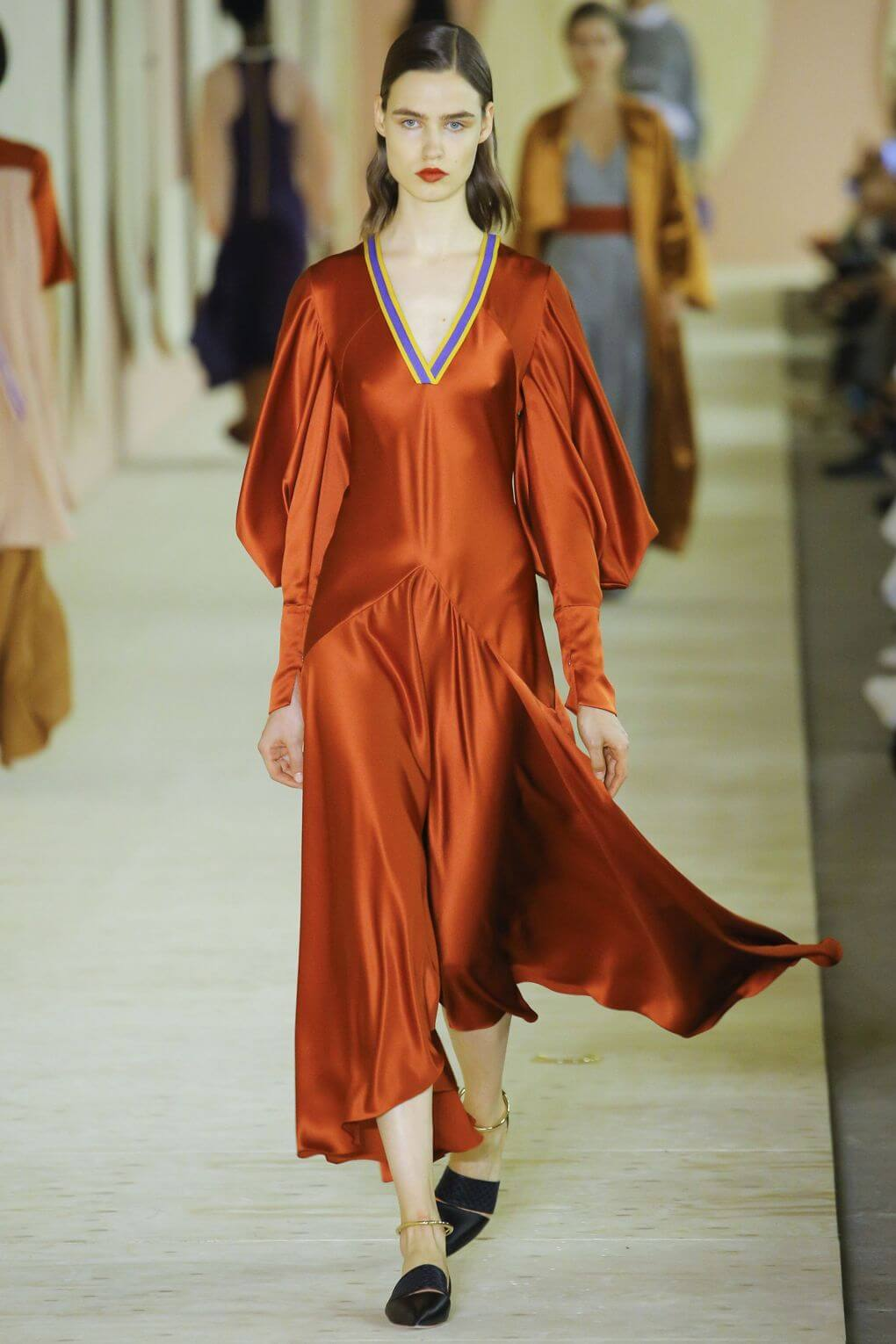 The Languid Dress LFW 2016 trends