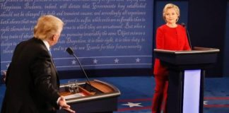 First US Presidential Debate of 2016 Elections