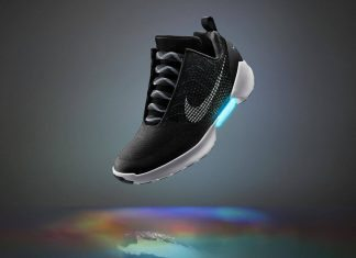 nike's self lacing shoes