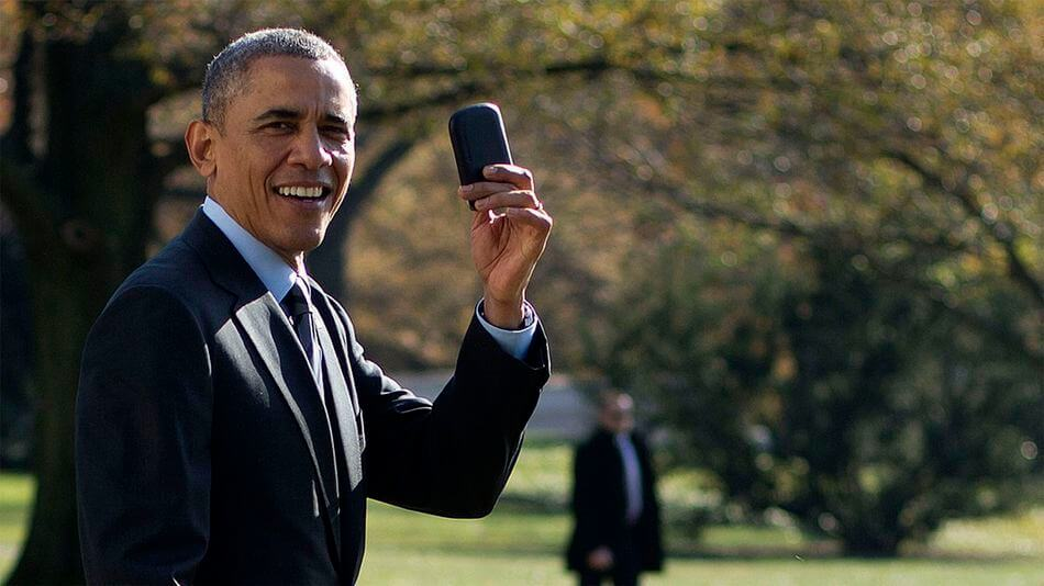 Obama made a run to the white house for his BB