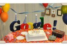 Google's 18th birthday!