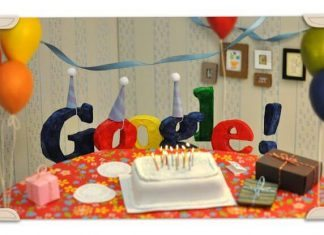 Google's 18th birthday!