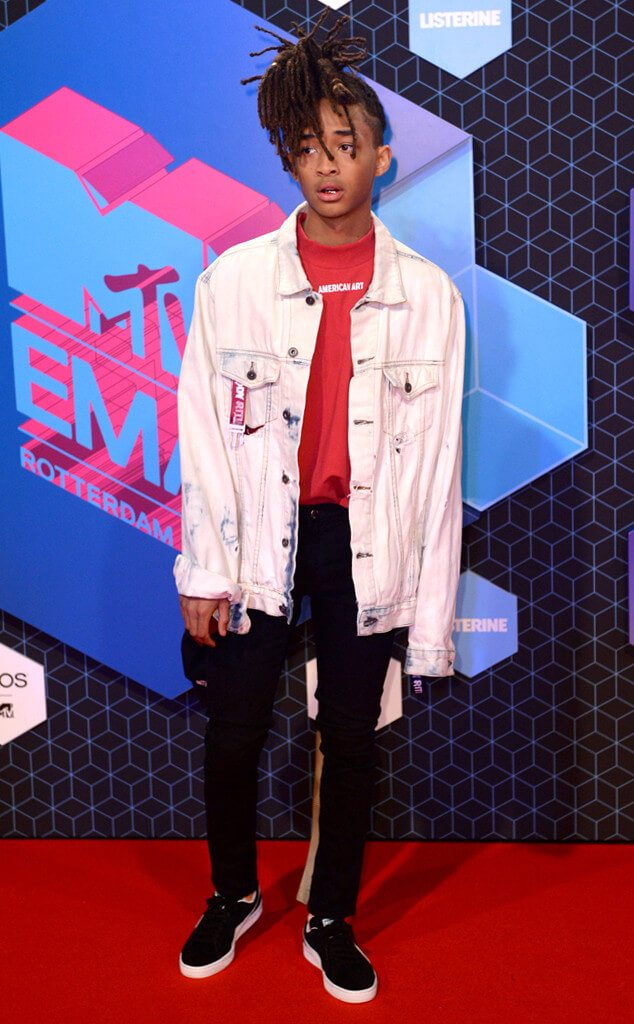 Jaden Smith at the 2016 MTV EMAs