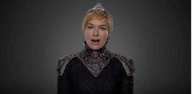 Cercei Lannister Game Of Thrones Season 7