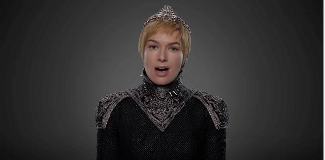 Cercei Lannister Game Of Thrones Season 7