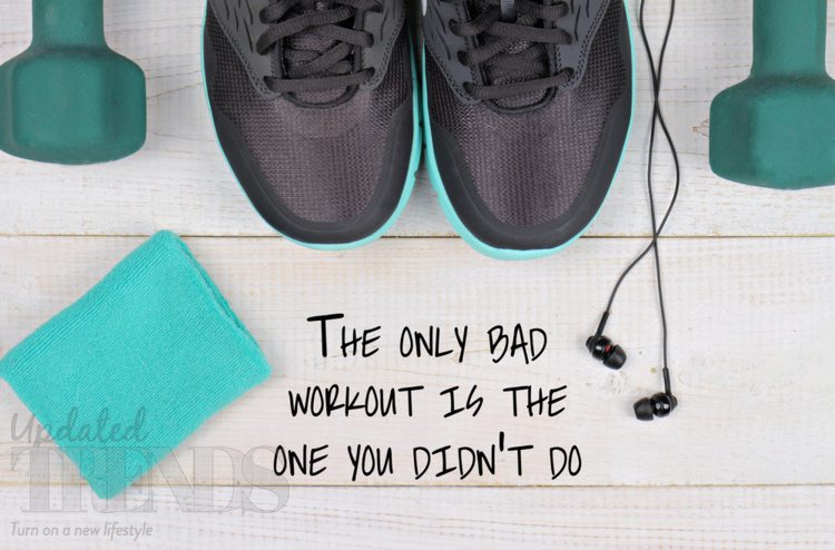 Workout quote fitness health