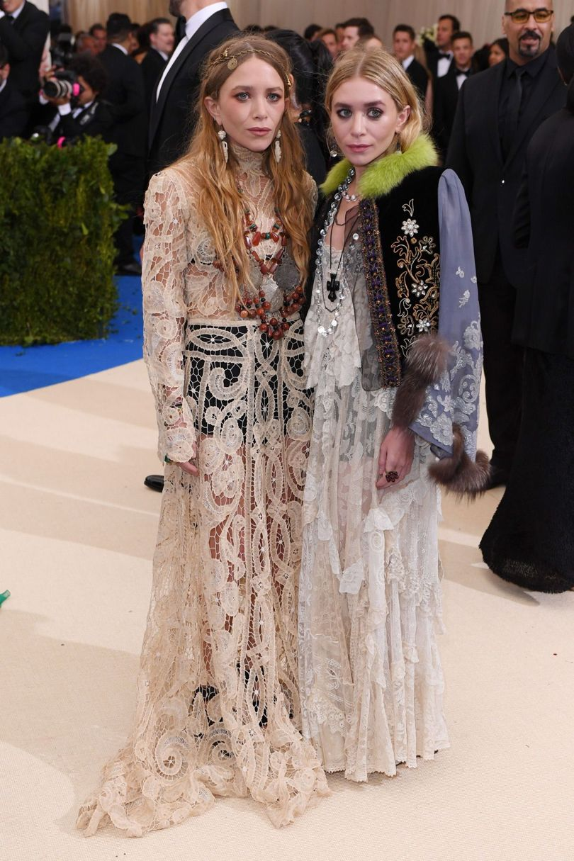 Mary-Kate Ashley Olsen Met Gala 2017