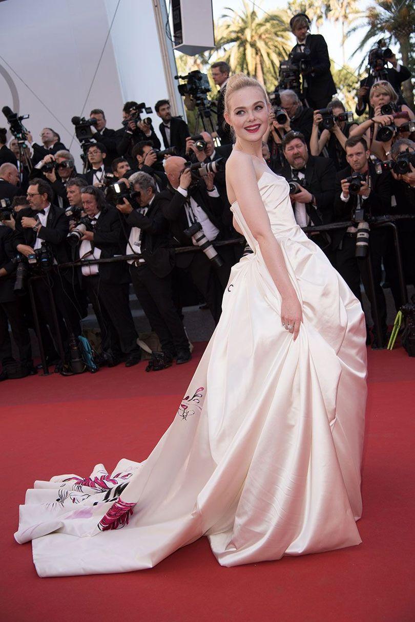 Elle Fanning Cannes Film Festival 2017