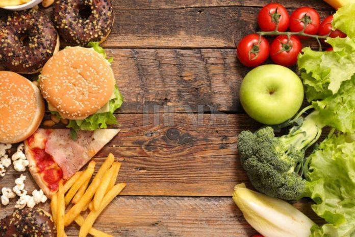 Junk food healthy food