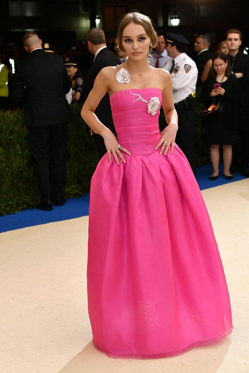 Lily-Rose Depp Met Gala 2017